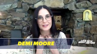 Demi Moore Is Recording An Erotic Podcast From Her Bathroom