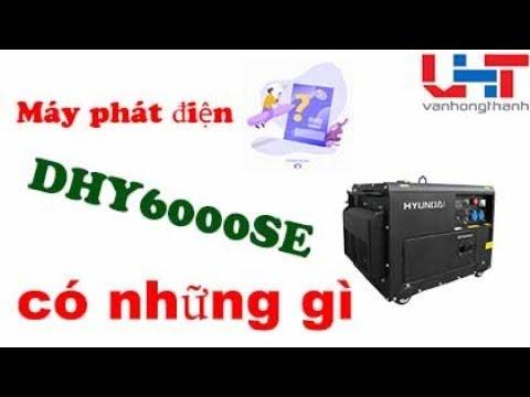 Máy phát điện Đà Nẵng – Hyundai DHY6000SE