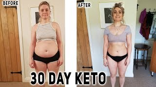 30 Days Vegan Keto Before and After Results | I tried vegan keto