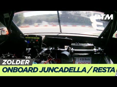 DTM Zolder 2019 - Juncadella / Di Resta (Aston Martin Vantage DTM) - RE-LIVE Onboard (Race 1)