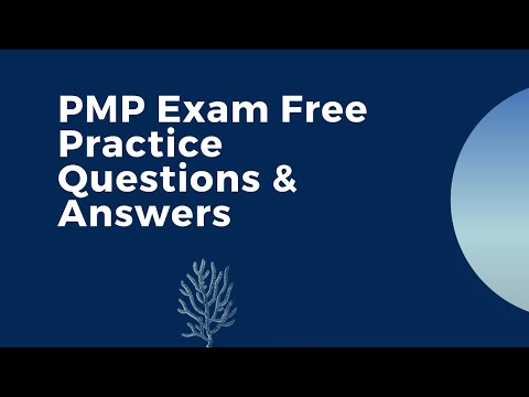 PMP Exam Free Practice Questions & Answers - YouTube
