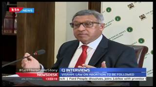 Judicial Service Commission interviews Judge Alnashir Vishram for position of Chief Justice