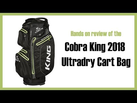 Review of Cobra King 2018 Ultradry Cart Bag