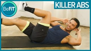 Killer Abs Workout: Mike Donavanik by BeFiT