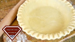 HOW To MAKE FLAKY PIE CRUSTS WITH And WITHOUT A FOOD PROCESSOR | Cooking With Carolyn