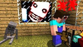 Minecraft: НУБ ПРОТИВ ДЖЕФФ УБИЙЦА 💉 – ТРОЛЛИНГ НЕВИДИМКОЙ И 100% ЗАЩИТА ОТ НУБОВ! MINECRAFT НУБ