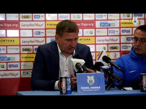 Konferencja prasowa po meczu Stomil - Odra Opole