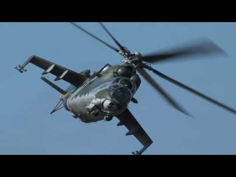 NIGERIA INDUCTS TWO NEW-BUILT MI-35M ASSAULT HELICOPTERS