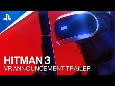 Bande-annonce compatibilité PlayStation VR de Hitman III