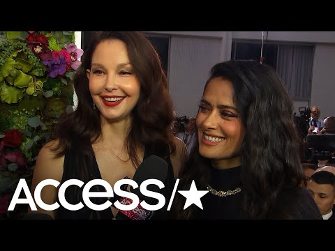 Salma Hayek & Ashley Judd Talk Raising 'A Beacon Of Hope' With Time's Up Movement | Access