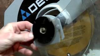 20171118 Part 2 - Delta Miter Saw blade replacement
