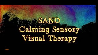 "Autism ""SAND"" Sensory Visual Therapy Calming Relaxation"