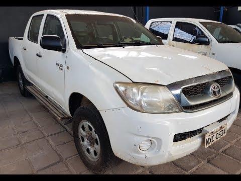 Vídeo da Toyota Hilux CD 4X4, placa NXC-0534 (venda em leilão)