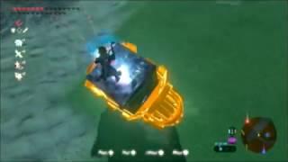 Breath of the Wild Glitch - Infinite Flying Machine (Magnesis Airship)
