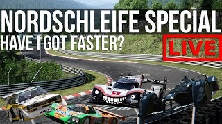 """The """"How Fast Can I Lap The Nordschleife"""" Stream Special"""