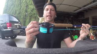 How to catch big carp on a fly rod