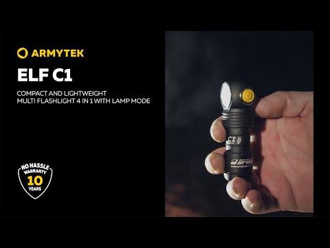 Elf C1 — compact Micro USB multi flashlight