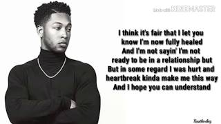 Jacob Latimore   Heartbreak Made Me (Lyrics)