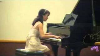 "MICHAELA playing ""Kiss the Rain"" in the 17th Annual Piano Recital (Level 7)"