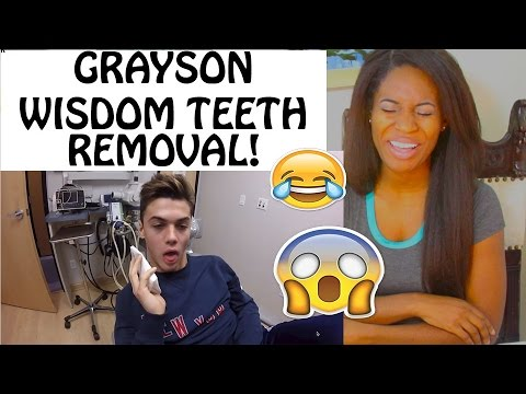 Grayson Gets His Wisdom teeth Removed Reaction!