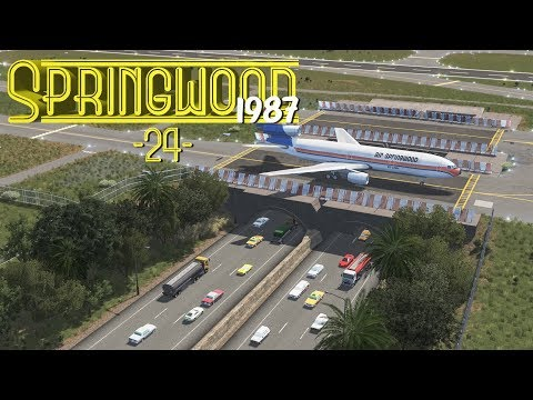 Cities Skylines: Springwood Airport Layout - EP24 -