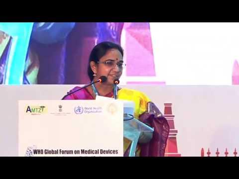 CM Nara Chandrababu Naidu live from the 4th WHO Global Forum, Visakhapatnam