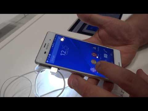 Foto Sony Xperia Z3, prime impressioni