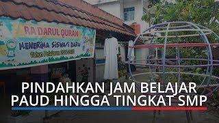 Walikota Padang Pindahkan Jam Belajar PAUD hingga Tingkat SMP