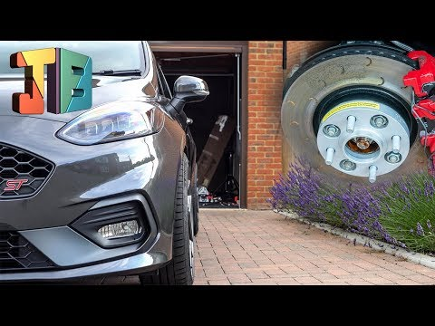 HOW TO Install Spacers MK8 Fiesta ST