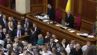 Драка депутатов в Верховной Раде (19.03)