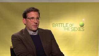 Steve Carell On Playing Bobby Riggs In BATTLE OF THE SEXES