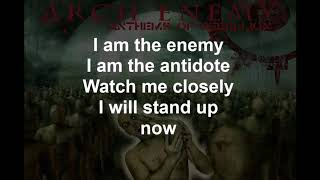 We Will Rise  - ARCHENEMY - Lyrics - 2003