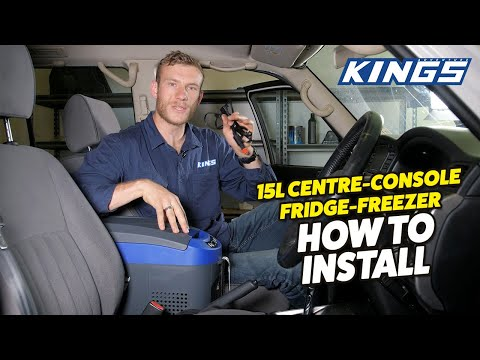 Adventure Kings 15L Centre Console Fridge Freezer How To Install