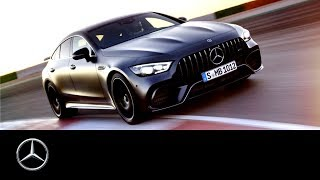 YouTube Video uwv2pDY3G_k for Product Mercedes-AMG GT 4-Door Coupe Sedan (X290) by Company Mercedes-Benz in Industry Cars