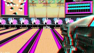Shooter's Alley Mac App Store Game - Red/Cyan 3D