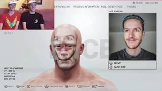 WWE 2K19 - Creating GiraffeyJosh Costume Character