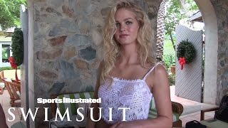 Behind The Tanlines: Erin Heatherton, Rose Bertram & Genevieve Morton | Sports Illustrated Swimsuit