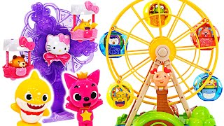 Let's go to amusement park with Pororo! Have fun with the Aeko Ferris Wheel! | PinkyPopTOY