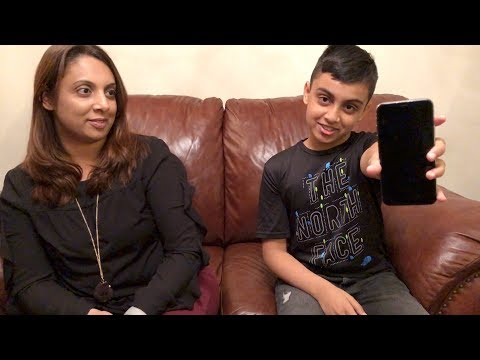 Blooper Reel - 10 Year Old Kid Unlocks Mom's iPhone X Using Face ID