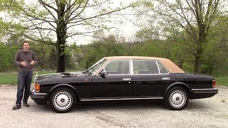Вот каким был Rolls-Royce за $300 000... в 1996