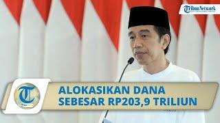 Pandemi Covid-19, Jokowi Alokasikan Dana Sebesar Rp203,9 Triliun untuk Program Perlindungan Sosial