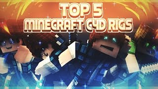 ● Top 5 Minecraft Rigs [ C4D ] ●