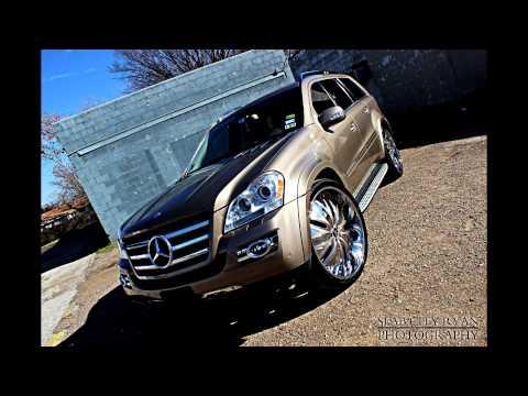 """Mercedes GL 550 Sitting on 26"""" Amani Forged Wheels done by Big Boys Customs!"""