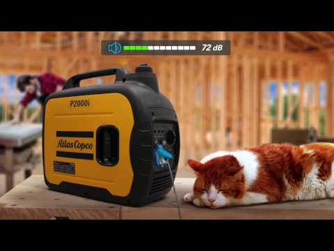 iP Compact, Quiet and Portable Generator. In any place, in any job, in silence Atlas Copco - zdjęcie