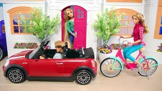 Gambar cover Barbie doll Dream House Evening Routine boneka Barbie Rumah impian boneca Barbie Casa