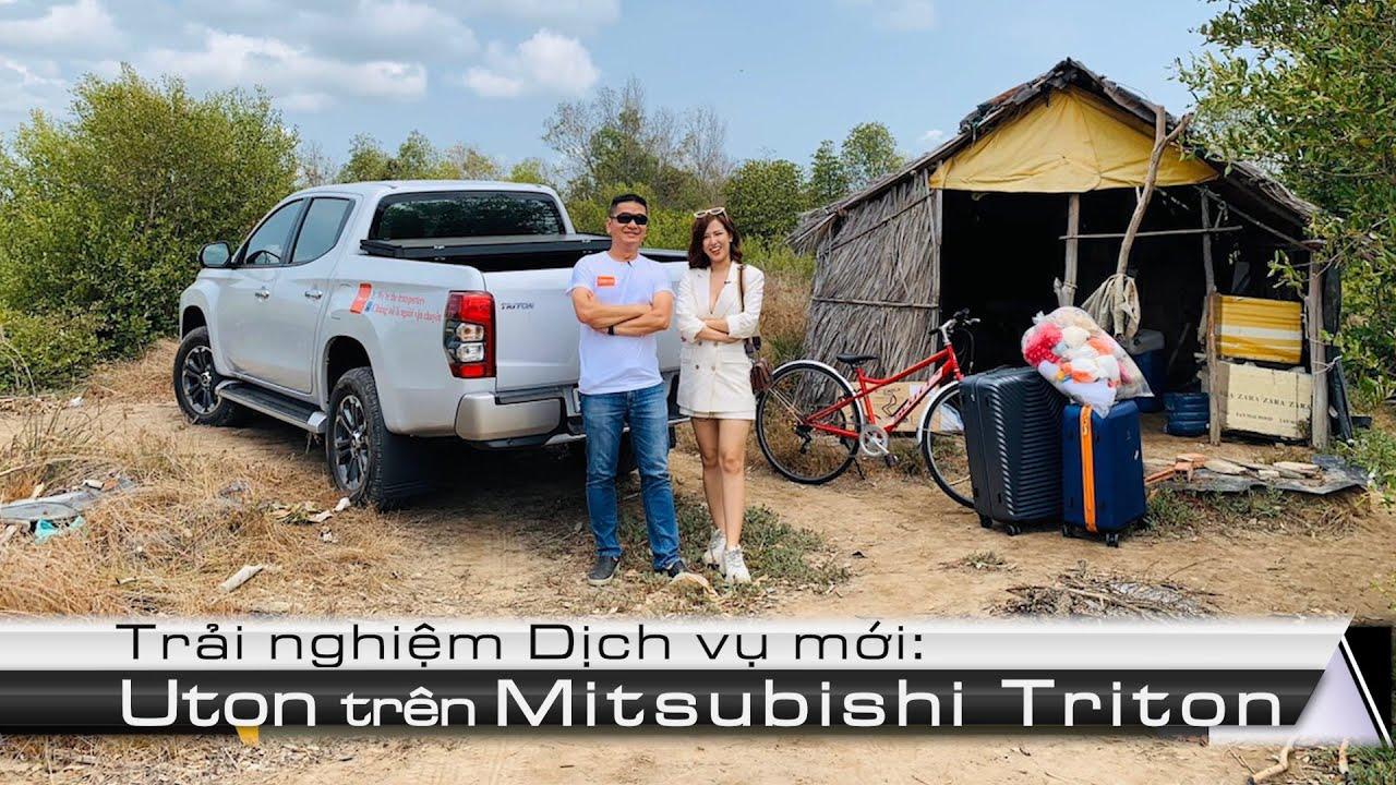 Mitsubishi Triton cùng cô chủ quán về quê chống dịch - 0948960069 Nhung Xù