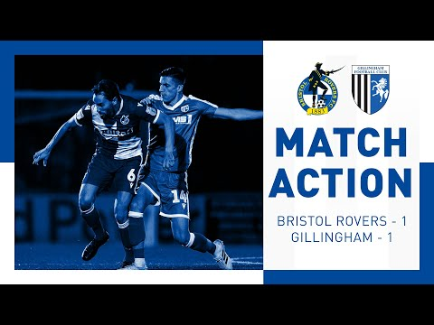 Match Action: Bristol Rovers 1-1 Gillingham