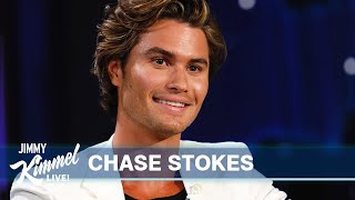 Chase Stokes on Outer Banks, Living in a Parking Garage & Getting Fired from Everything