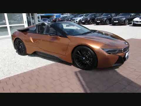 Wideo BMW i8 Roadster CarbonL.HK-WLan+DAB 360KAMERA HeadUp