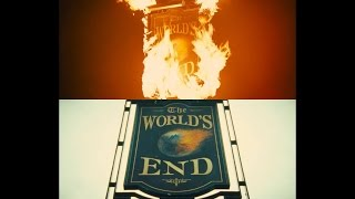 The World's End Opening Scene (Side By Side Comparison)